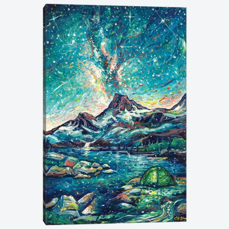 Alpine Bliss Canvas Print #JFJ21} by Jeff Johnson Canvas Wall Art