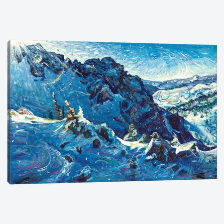 High in the Pass Canvas Print #JFJ24} by Jeff Johnson Canvas Art Print