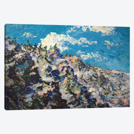 Alpine Pass Canvas Print #JFJ2} by Jeff Johnson Canvas Print