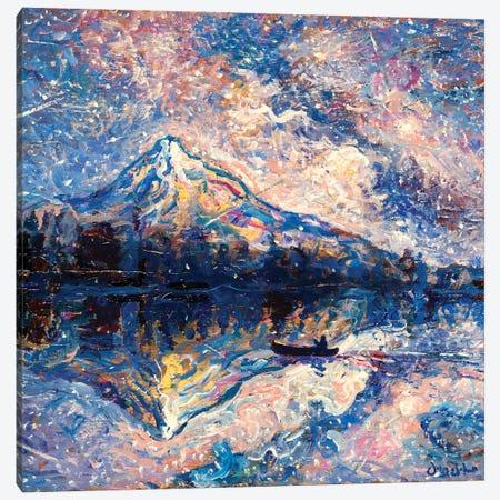 Mountain Retreat Canvas Print #JFJ33} by Jeff Johnson Art Print