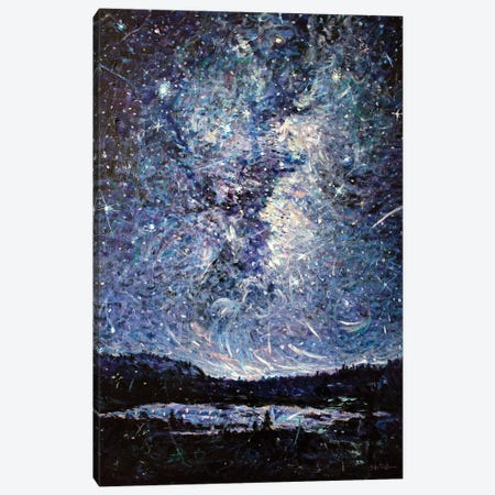 Cathedral of the Night Canvas Print #JFJ4} by Jeff Johnson Canvas Wall Art