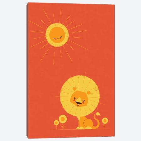 Who Loves The Sun Canvas Print #JFL105} by Jay Fleck Canvas Print