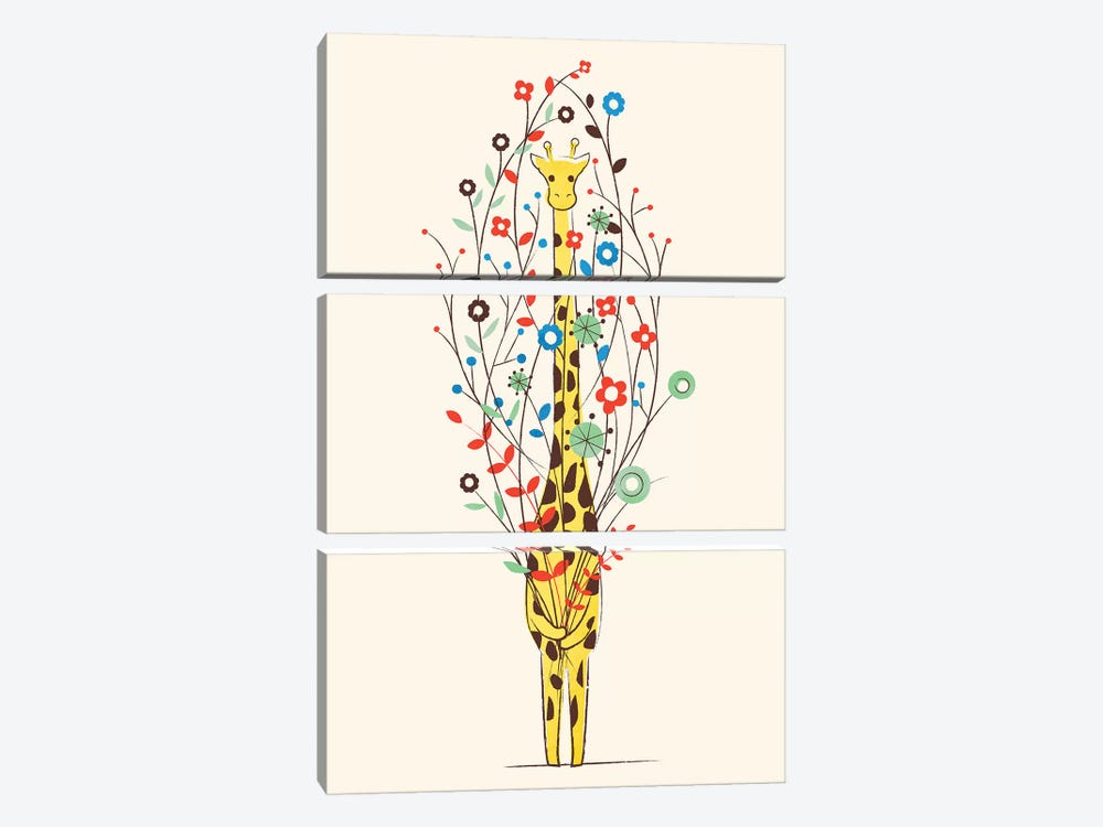 I Brought You These Flowers 3-piece Art Print