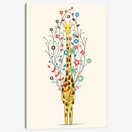 I Brought You These Flowers Canvas Print #JFL11} by Jay Fleck Art Print