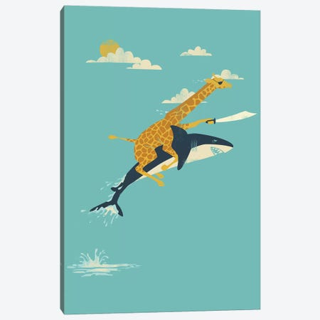 Onward! Canvas Print #JFL14} by Jay Fleck Canvas Artwork