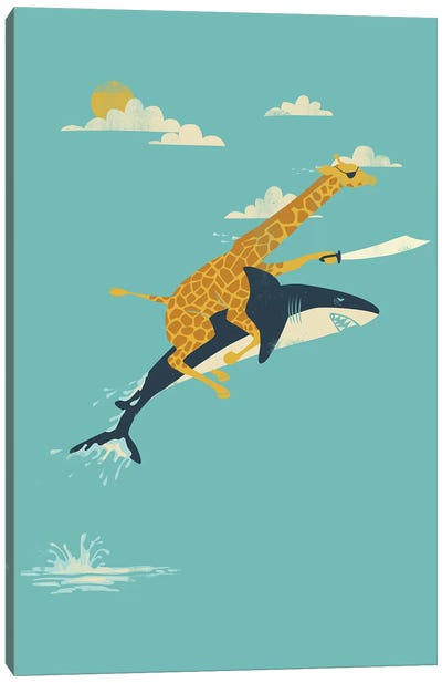 Onward! Canvas Art Print