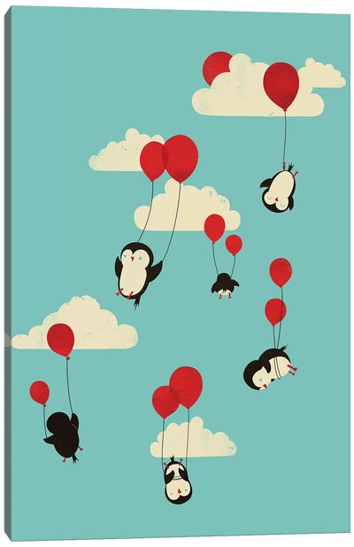 We Can Fly! Canvas Print #JFL22