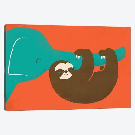 Let's Hang Canvas Print #JFL23} by Jay Fleck Canvas Artwork