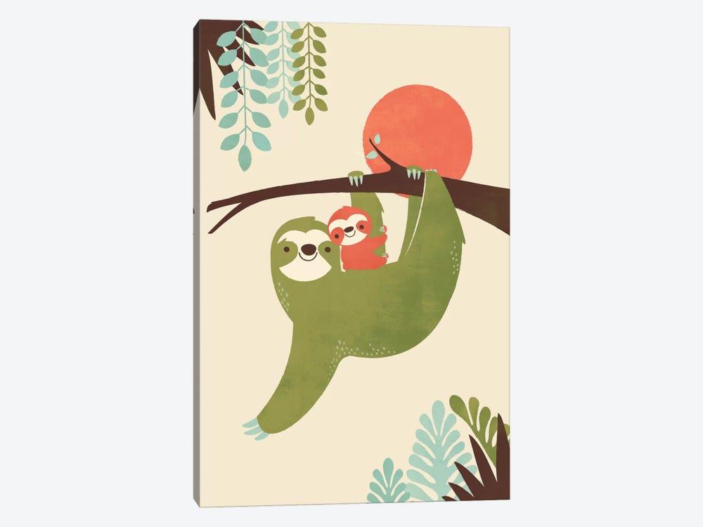 Mama Sloth by Jay Fleck 1-piece Art Print