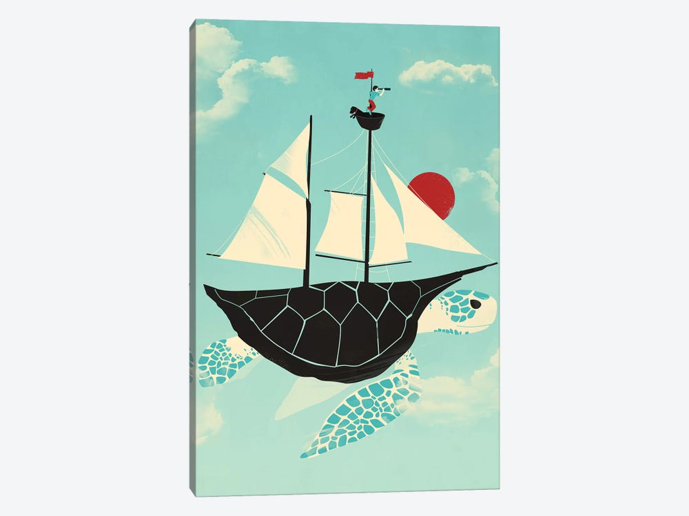Adrift by Jay Fleck 1-piece Canvas Art Print