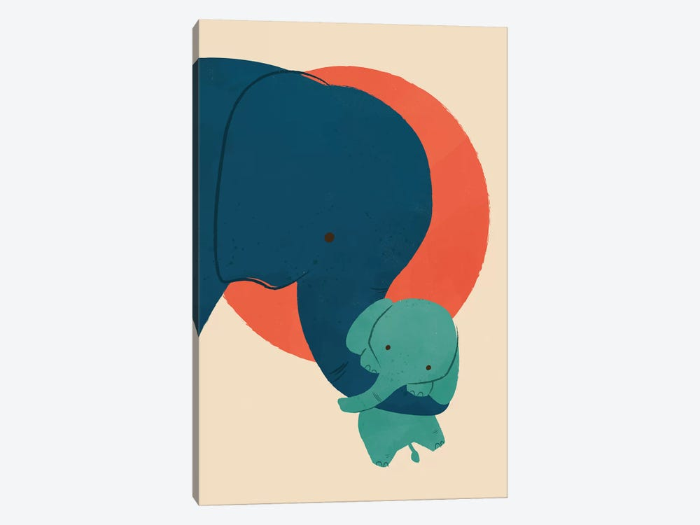 Baby Elephant 1-piece Canvas Artwork