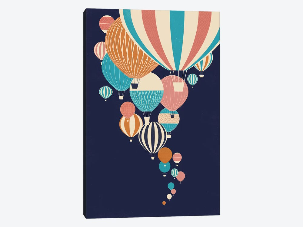 Balloons by Jay Fleck 1-piece Canvas Wall Art
