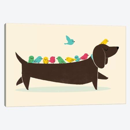 Bird Dog Canvas Print #JFL31} by Jay Fleck Canvas Art Print