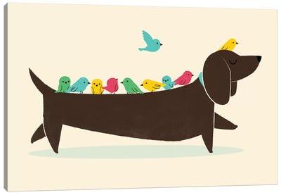 Bird Dog Canvas Art Print