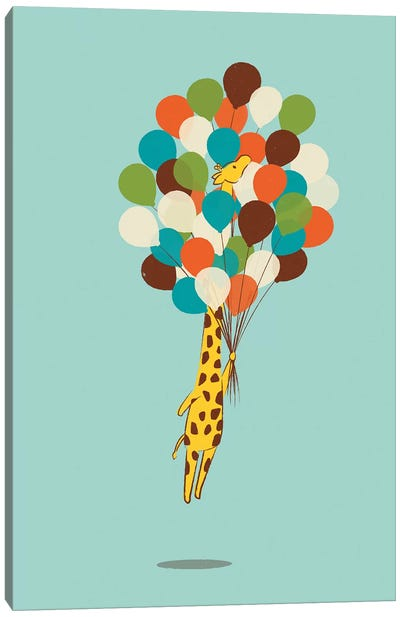 Floating Away Canvas Art Print