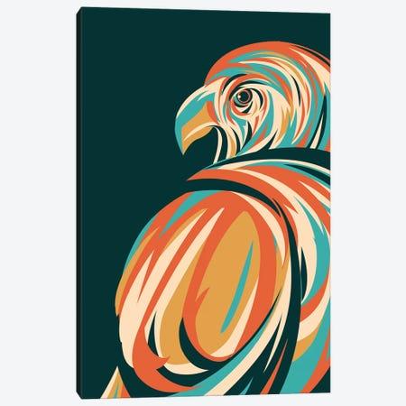 Hawk Canvas Print #JFL37} by Jay Fleck Canvas Art