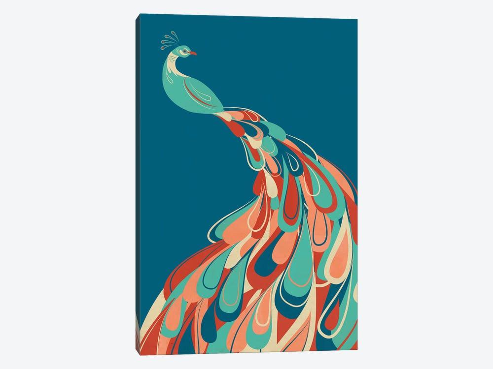 Peacock by Jay Fleck 1-piece Art Print