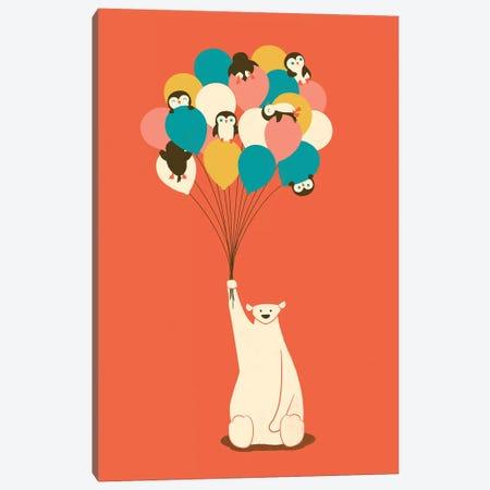 Penguin Bouquet Canvas Print #JFL52} by Jay Fleck Canvas Print