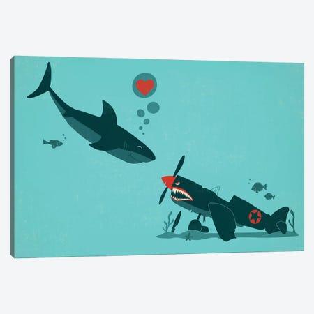 Sea Of Love 3-Piece Canvas #JFL55} by Jay Fleck Canvas Artwork