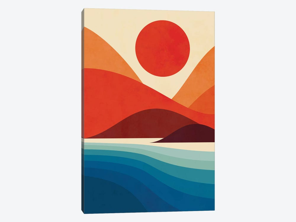 Seaside 1-piece Canvas Art