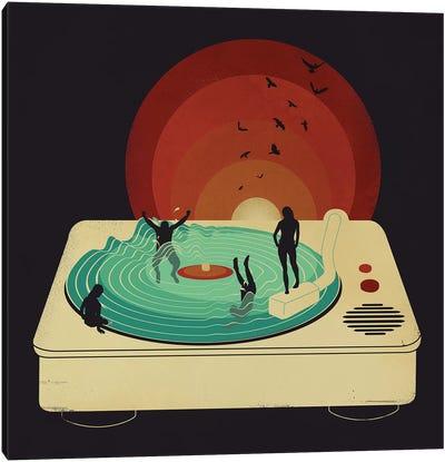 Soundwaves Canvas Art Print