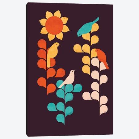 Sunflower Canvas Print #JFL60} by Jay Fleck Canvas Art