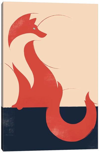 The Fox Canvas Art Print
