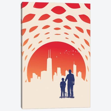 The Skyline Canvas Print #JFL64} by Jay Fleck Art Print