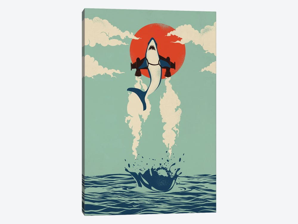 Up From The Deep by Jay Fleck 1-piece Art Print