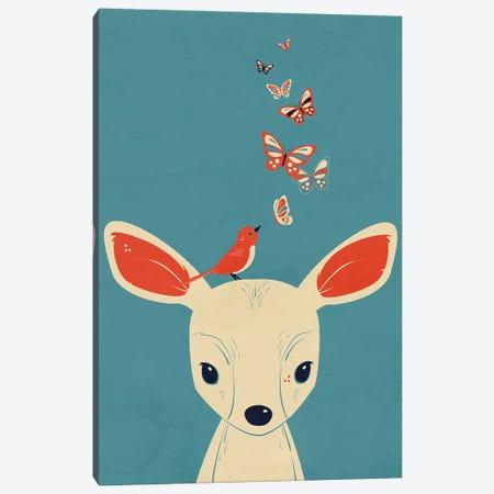 Flutter Canvas Print #JFL77} by Jay Fleck Canvas Artwork