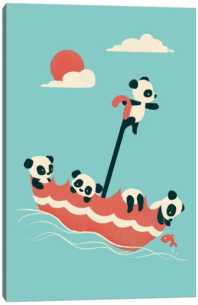 Float On Canvas Art Print