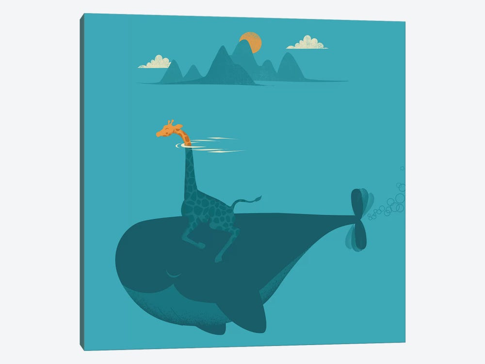 Nature's Submarine by Jay Fleck 1-piece Canvas Artwork