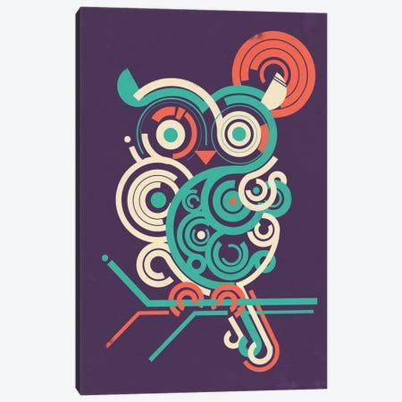 Owl 2.0 Canvas Print #JFL83} by Jay Fleck Canvas Artwork