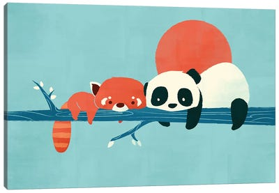 Pandas Canvas Art Print