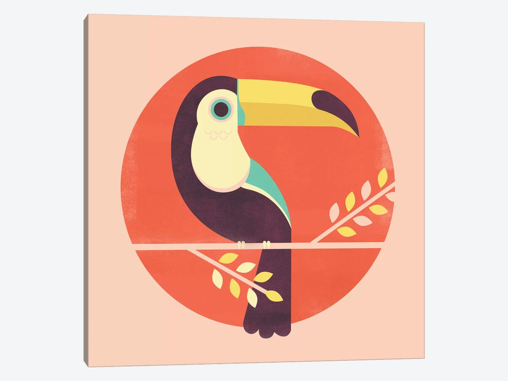 Toucan 1-piece Canvas Art Print