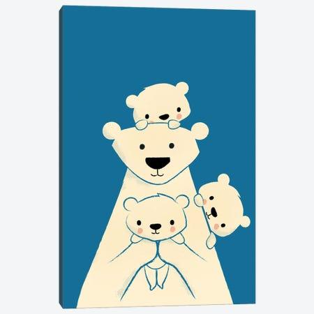 Papa Bear Canvas Print #JFL94} by Jay Fleck Canvas Art