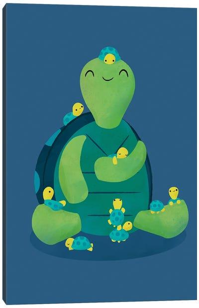 Turtle Mama Canvas Art Print