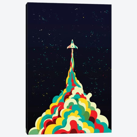 Into The Sky Canvas Print #JFL97} by Jay Fleck Canvas Wall Art