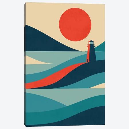 Lighthouse Canvas Print #JFL98} by Jay Fleck Art Print