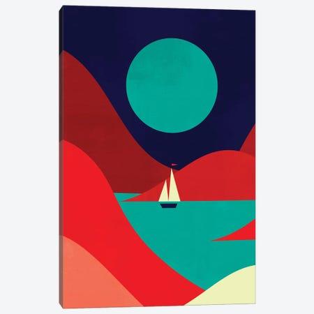 Inlet Canvas Print #JFL99} by Jay Fleck Art Print