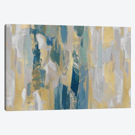 Revelation Teal Canvas Print #JFM10} by Jennifer Martin Canvas Art