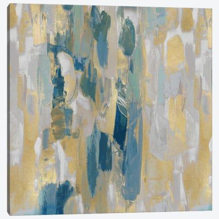 Reveal Teal I Canvas Print #JFM5} by Jennifer Martin Canvas Art Print