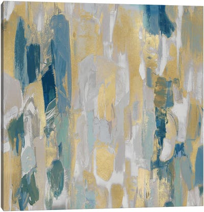 Reveal Teal II Canvas Art Print