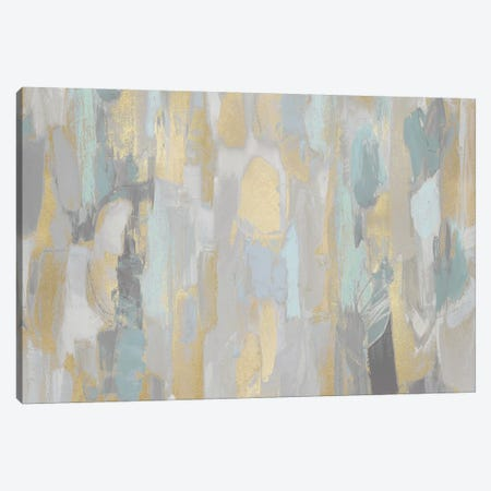 Revelation Aqua Canvas Print #JFM7} by Jennifer Martin Canvas Art Print