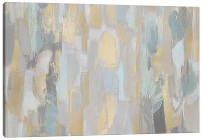 Revelation Aqua Canvas Art Print