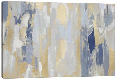 Revelation Blue Canvas Art Print