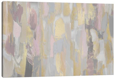 Revelation Pink Blush Canvas Art Print