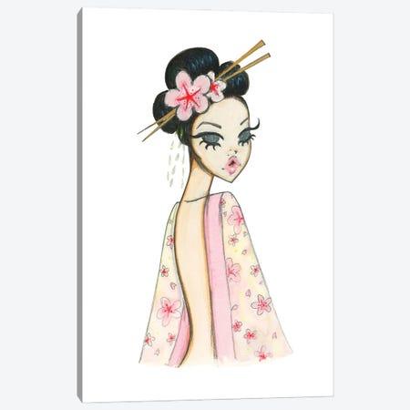 Blossom Canvas Print #JFN11} by Josefina Fernandez Art Print