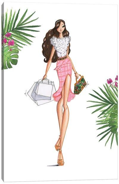 Miami Shopping Spree Canvas Art Print