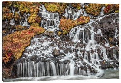 Iceland, Bjarnafoss Canvas Art Print